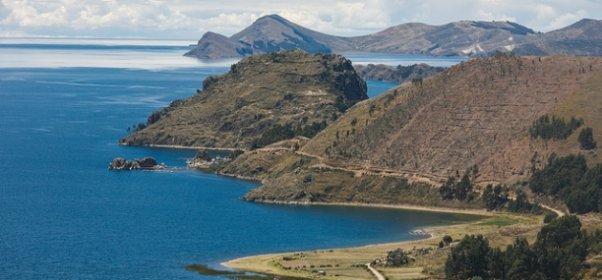 Pogled na jezero Titikaka